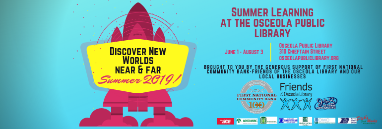 Copy of Media size Discover New Worlds 2019 Poster